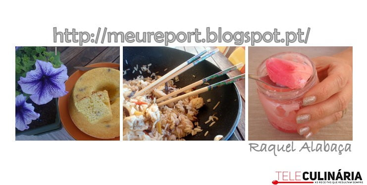 O meu report culinario