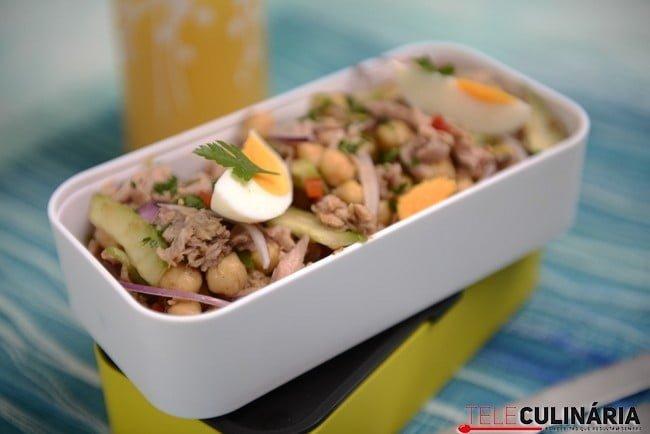 Atum numa salada de grão 6