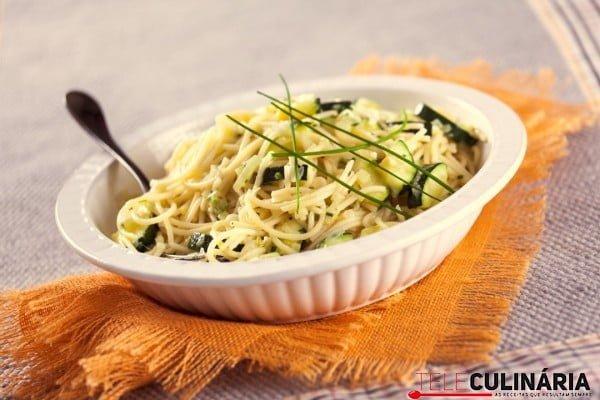 Esparguete com Legumes e Ervas TC 2 Custom
