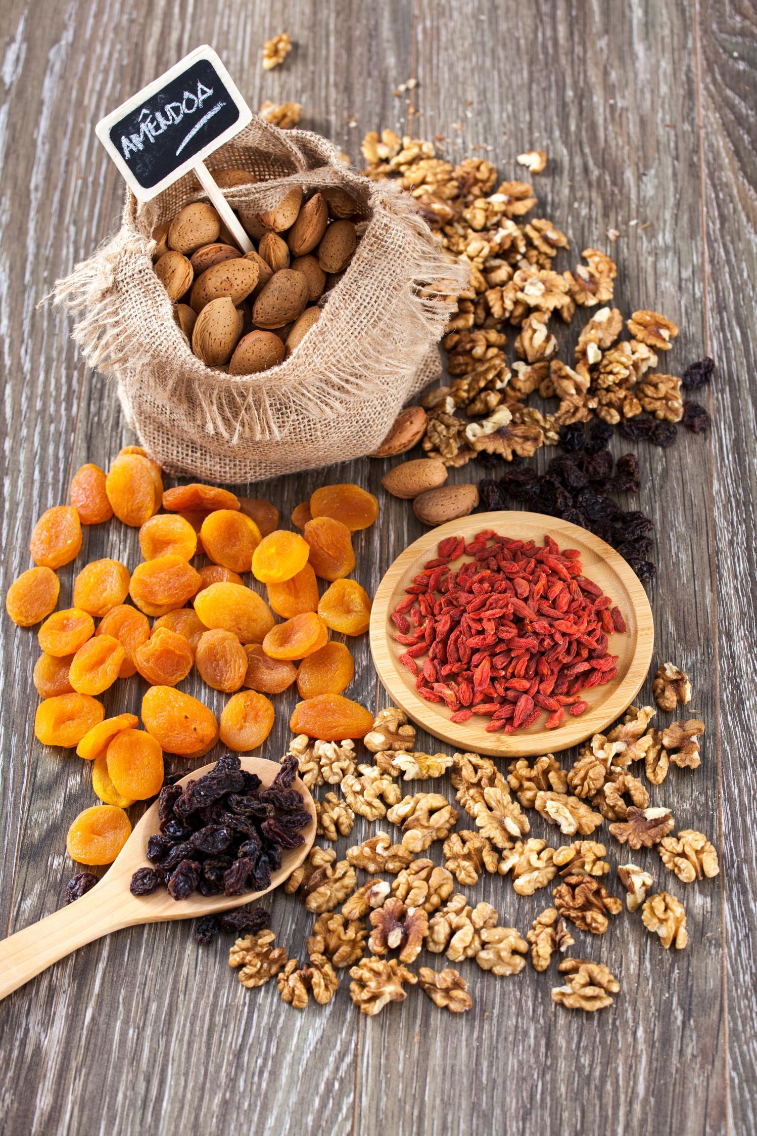 Frutos secos de menos calorias