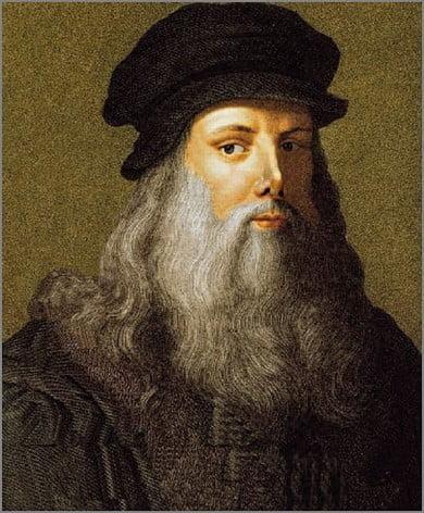 Receitas com História – Leonardo da Vinci