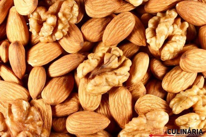 amendoas nozes Custom