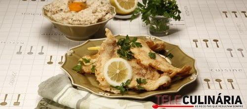 Acorda de ovas de pescada com seus filetes 4 D