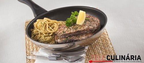Atum fresco marinado