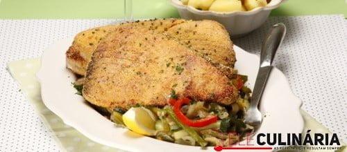 Atum corado com legumes 2 D