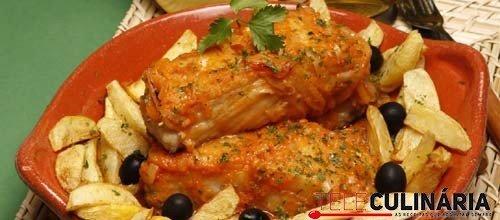 Bacalhau frito regional