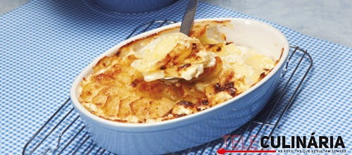 Batatas gratin