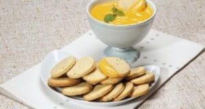 Biscoitos com creme de limão