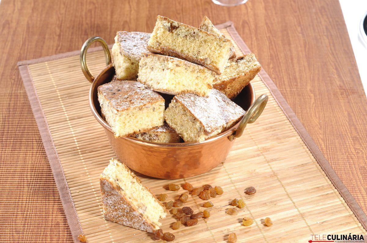 bolo de frutos secos com jeropiga
