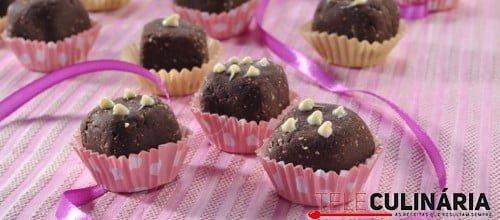Bombons rapidos de chocolate 8 D