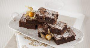 Brownie de Chocolate e Frutos Secos