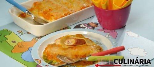 Canelones de fiambre e queijo 1 D