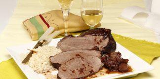 Carne de vaca com Chalotas e Vinho do Porto 1