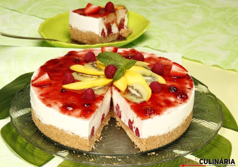 Cheesecake Tropical