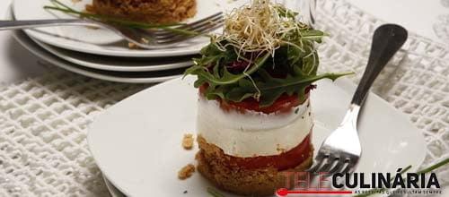 Cheesecake de tomate e queijo de cabra 8 DETALHE