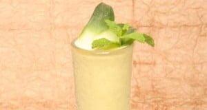 Cocktail de ananás com gin