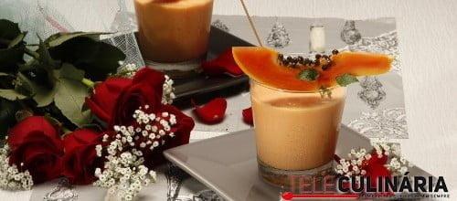 Creme de papaia gelado