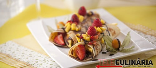 Crepe de Fruta e Chocolate TC 003 D