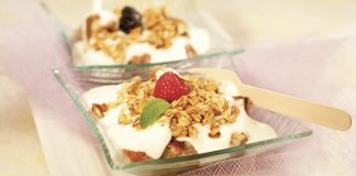 Delícia de iogurte com crumble de aveia 12