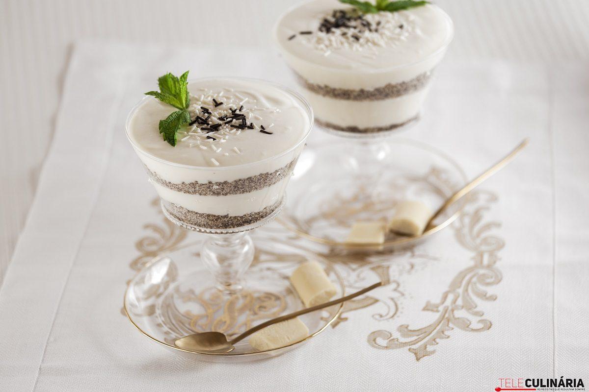 delícia de chocolate branco