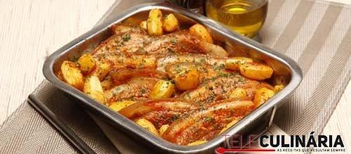 Entremeadas marinadas em pimentão