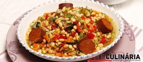 Feijoada de soja e legumes 5 detalhe