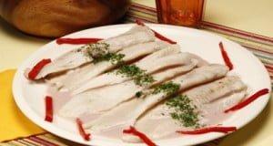 Filetes de pescada com Porto