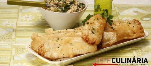 Filetes de pescada crocantes 2 D