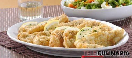 Filetes de pescada panados com macedonia 1 D