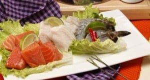Fondue de peixe e camarão