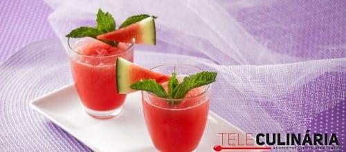 Granizado de melancia