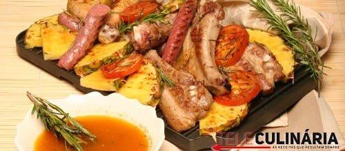 Grelhada mista de carne