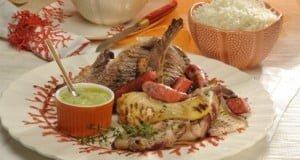 Grelhada de carne marinada