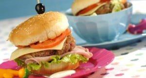 Hambúrgueres caseiros