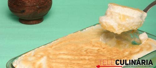 Leite-creme de coco merengado