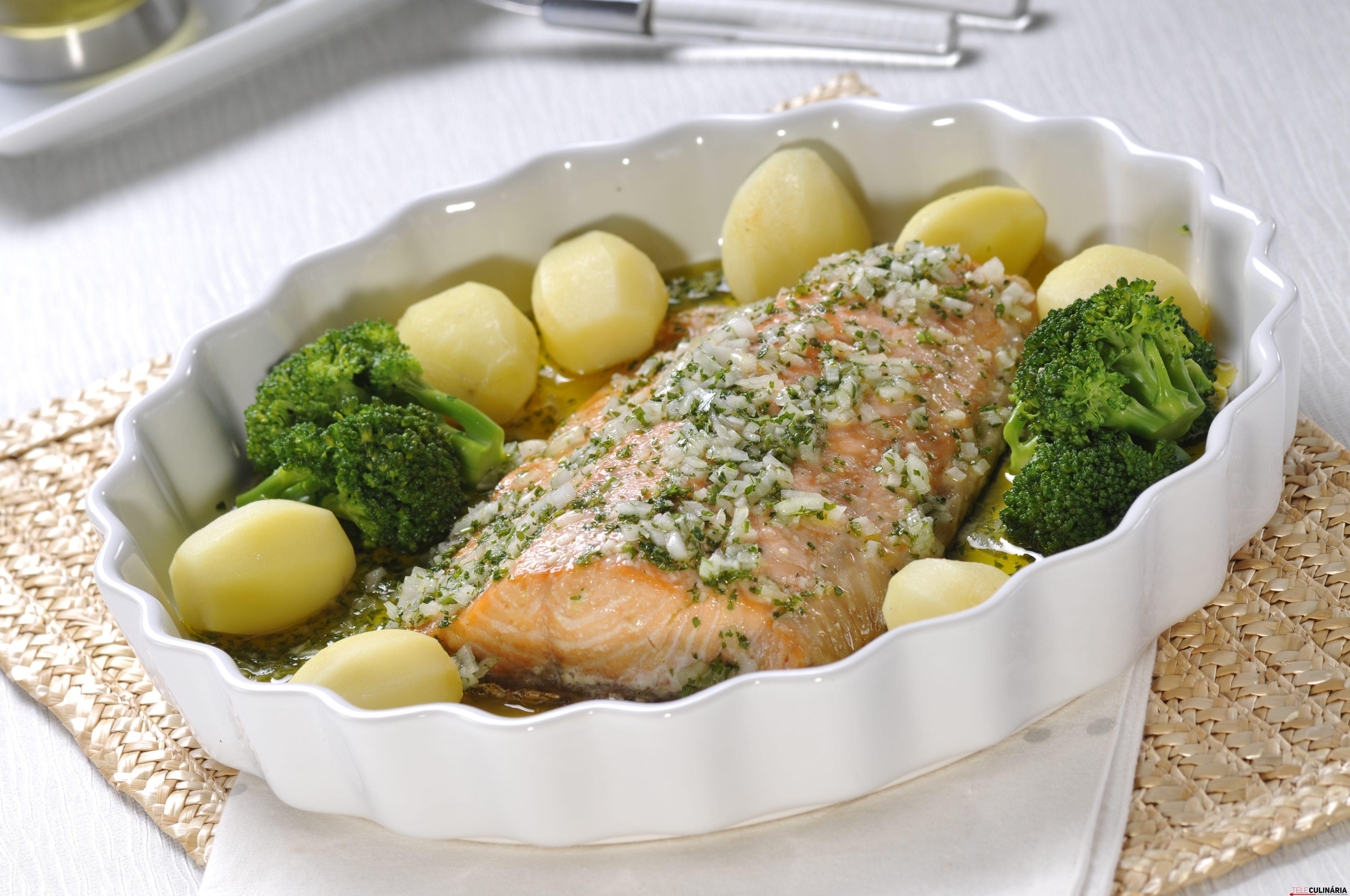 Lombo de salmão no forno 4