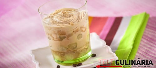 Melao Caramelizado com bolacha Maria e Creme Cafe TC 005 D