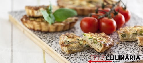 Mini Quiches de Legumes TC 004 D