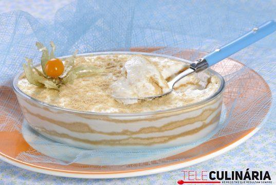 Mousse de iogurte