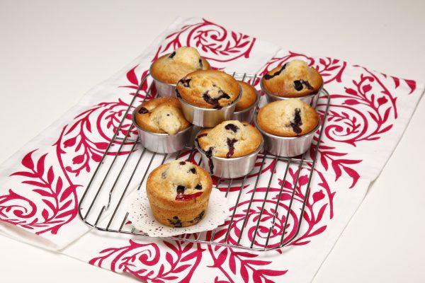 Muffins de mirtilos 5