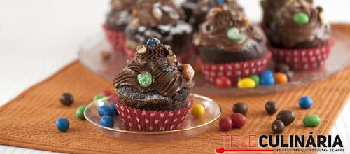 Muffins de Chocolate e MeMs TC 004 D