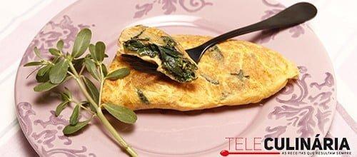 Omelete de Baldroegas 2detalhe