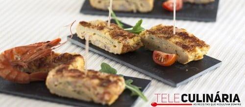 Omelete de Camarao com Alho e Salsa TC 008 D
