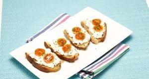 Pão de alho com requeijão