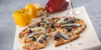 Pizza de Sardinha e Pimentos TC 005 D