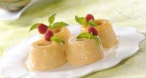 Pudinzinhos de meloa