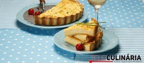 Quiche de queijo 1 D