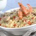 Risotto de frutos do mar