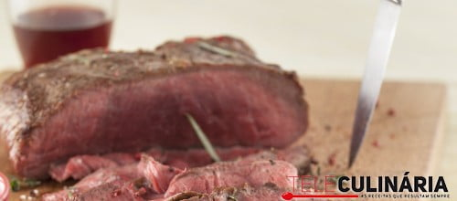 Roast Beef com Molho de Iogurte e Ervas TC 010 D