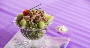 Salada Refrescante de Meloa e Atum